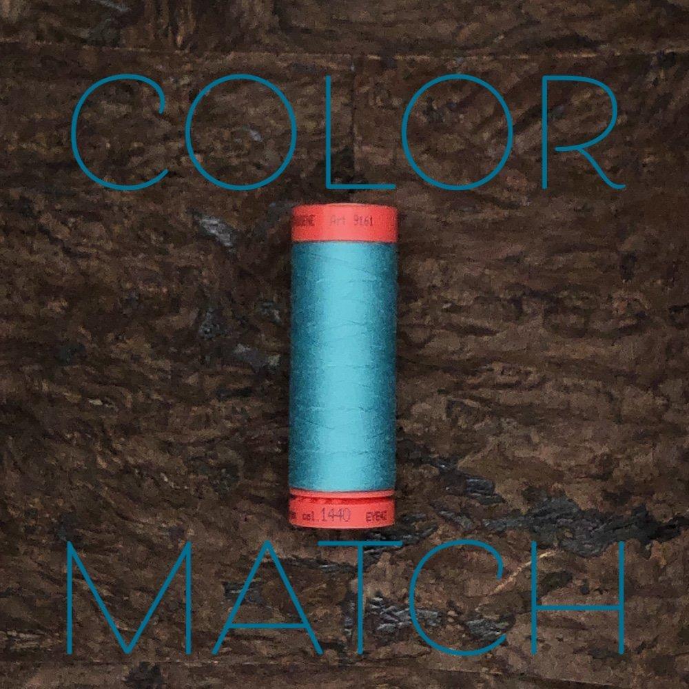 Color Match - We Will Match Your Fabric - Mettler Metrosene Thread - 164 Yards