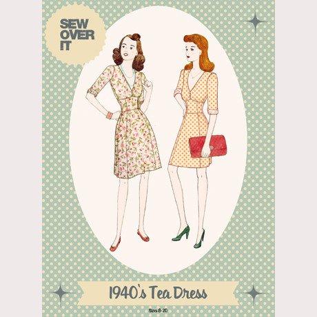 1940's Tea Dress - Sew Over It London