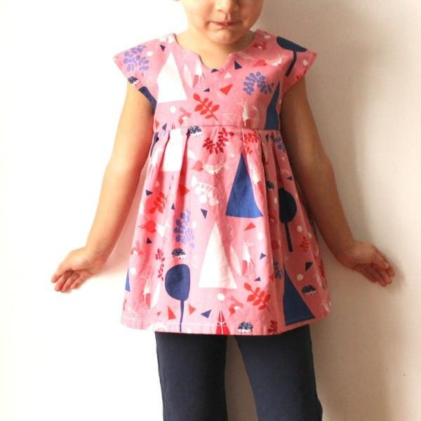 Geranium Dress - Made by Rae