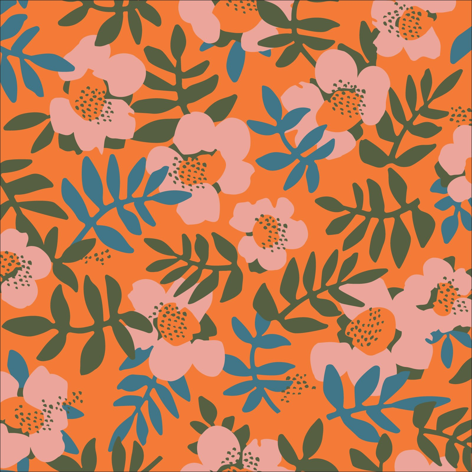 Nocturnal - Rayon Challis - Cloud 9 Fabrics