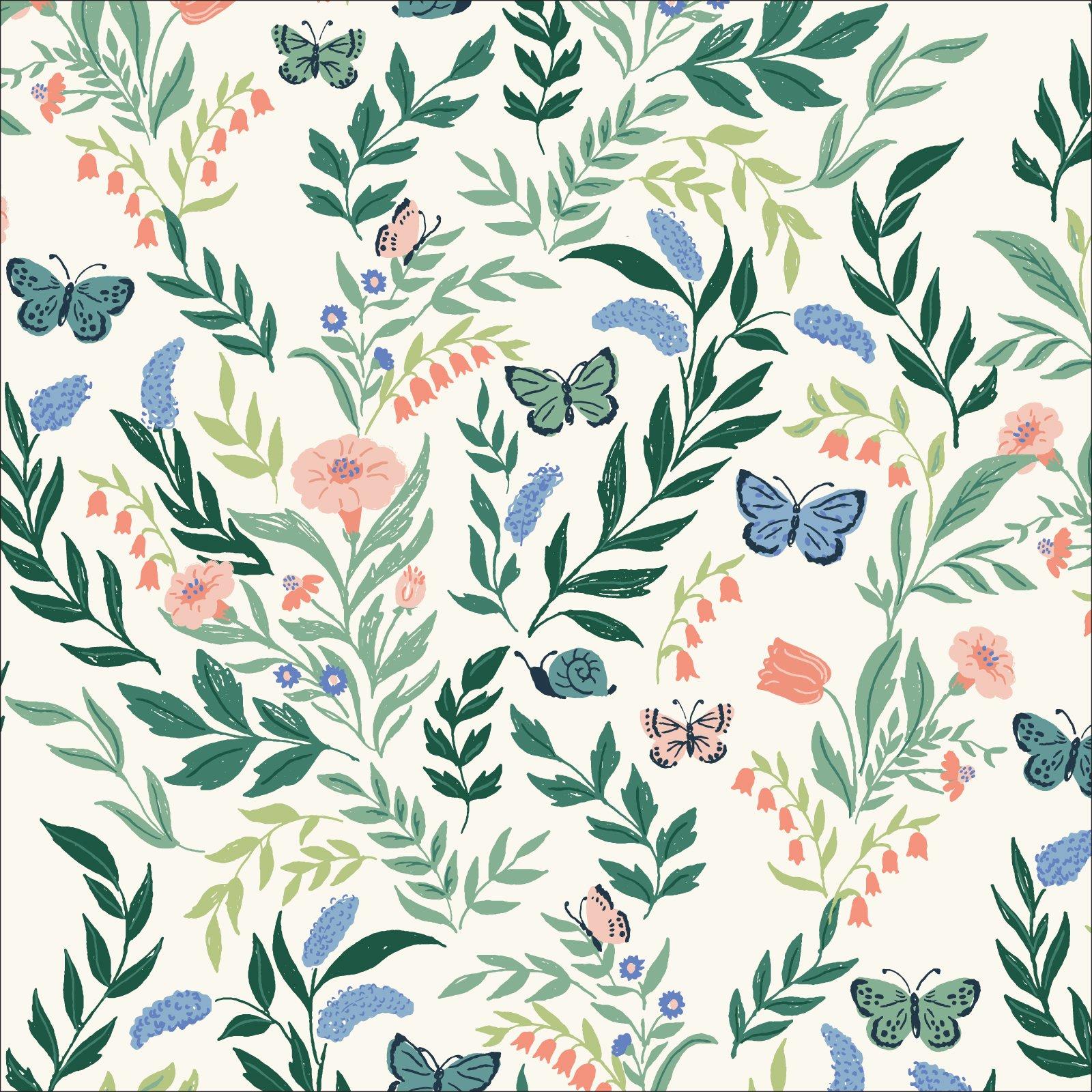 Flora - Perennial - Cloud 9 Organic Cotton