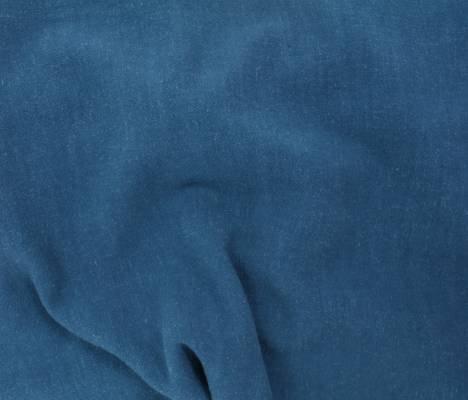 Dark Teal - Viscose Linen Silky Noil - Telio & Cie