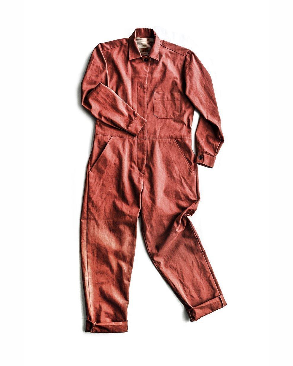 Thelma Boilersuit (Sizes UK 6 - 18) - Merchant & Mills Patterns