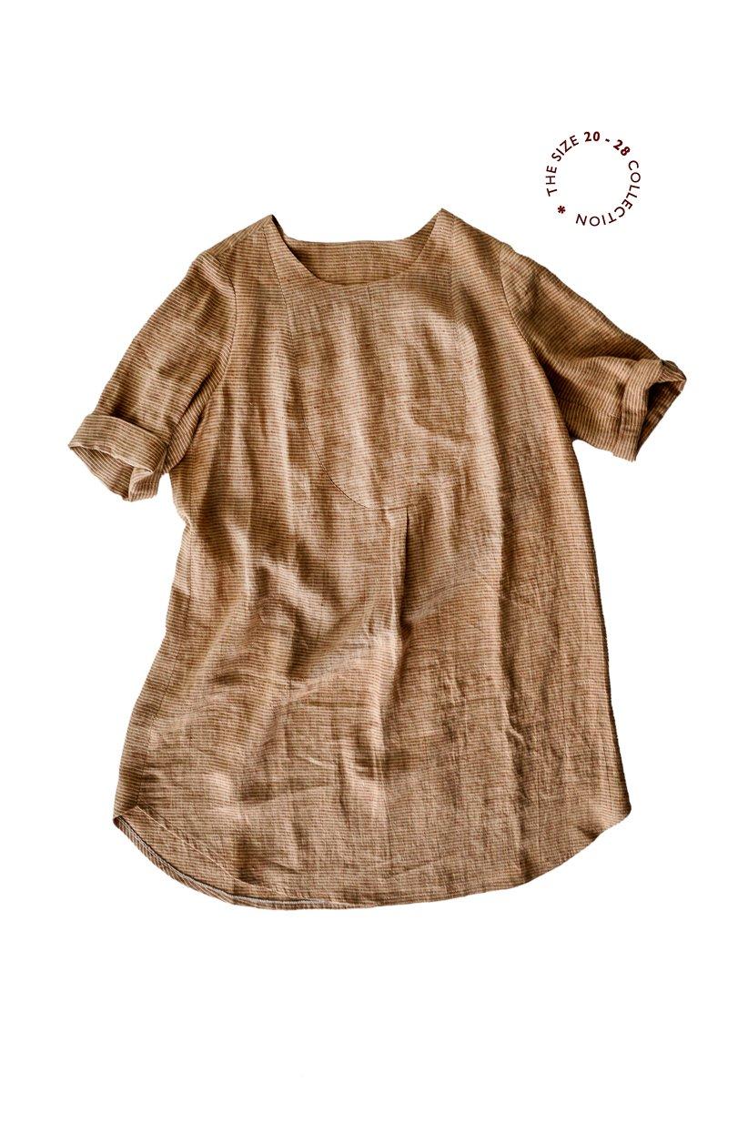 Dress Shirt (Sizes UK 20 - 28) - Merchant & Mills Patterns