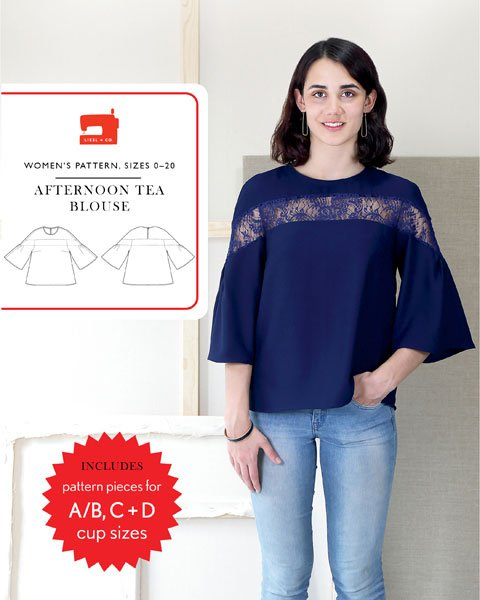 Afternoon Tea Blouse - Liesl & Co.
