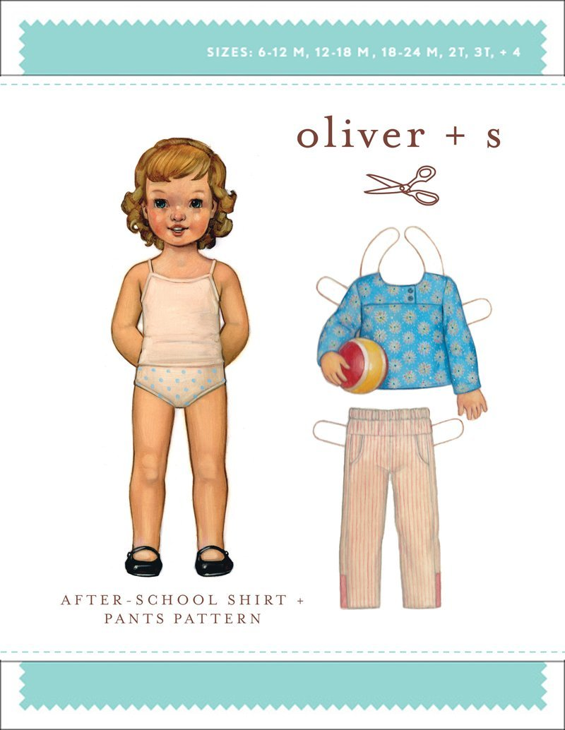 After School Shirt & Pants - Oliver + S