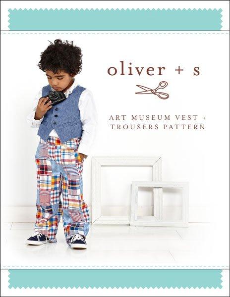 Art Museum Vest & Trousers - Oliver + S