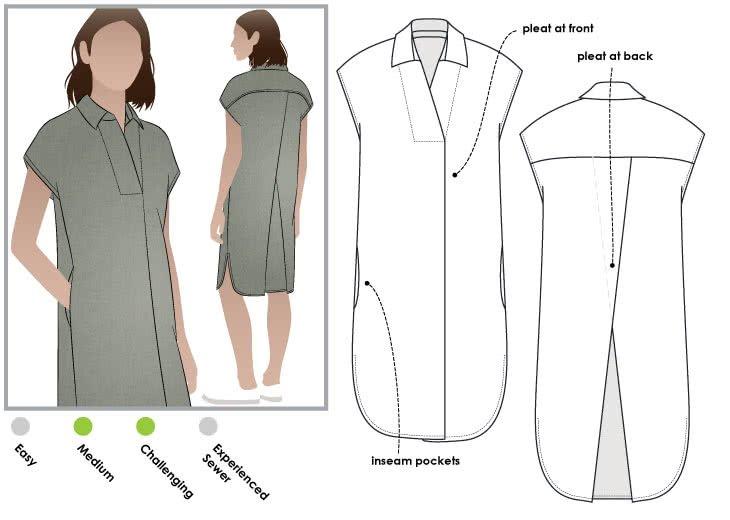 Autumn dress - Style Arc