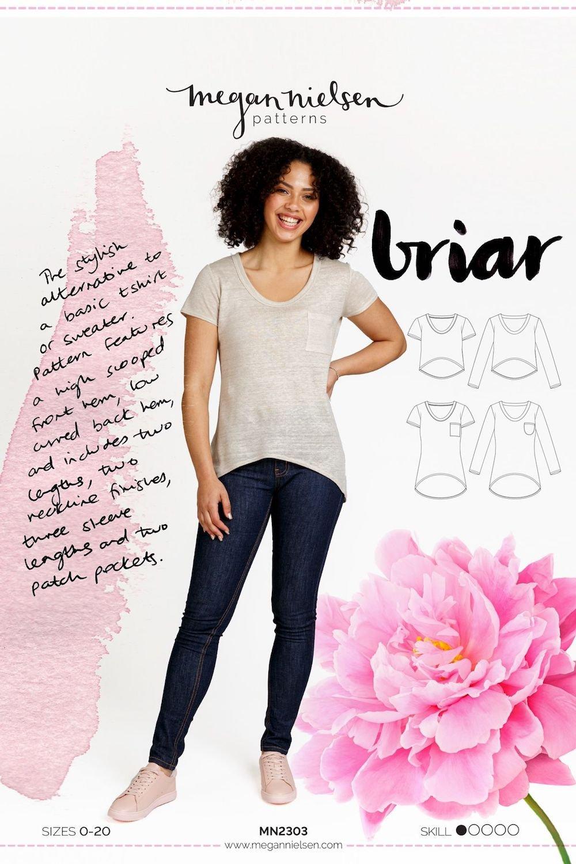 Briar T-shirt & Sweater - Megan Nielsen