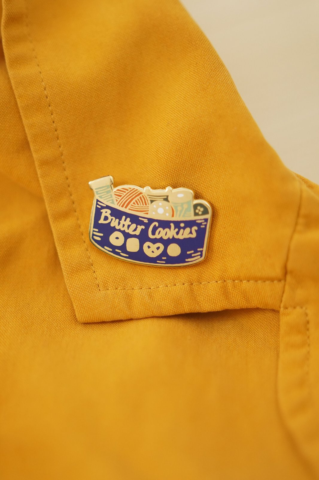 Butter Cookie - Justine Gilbuena Pins