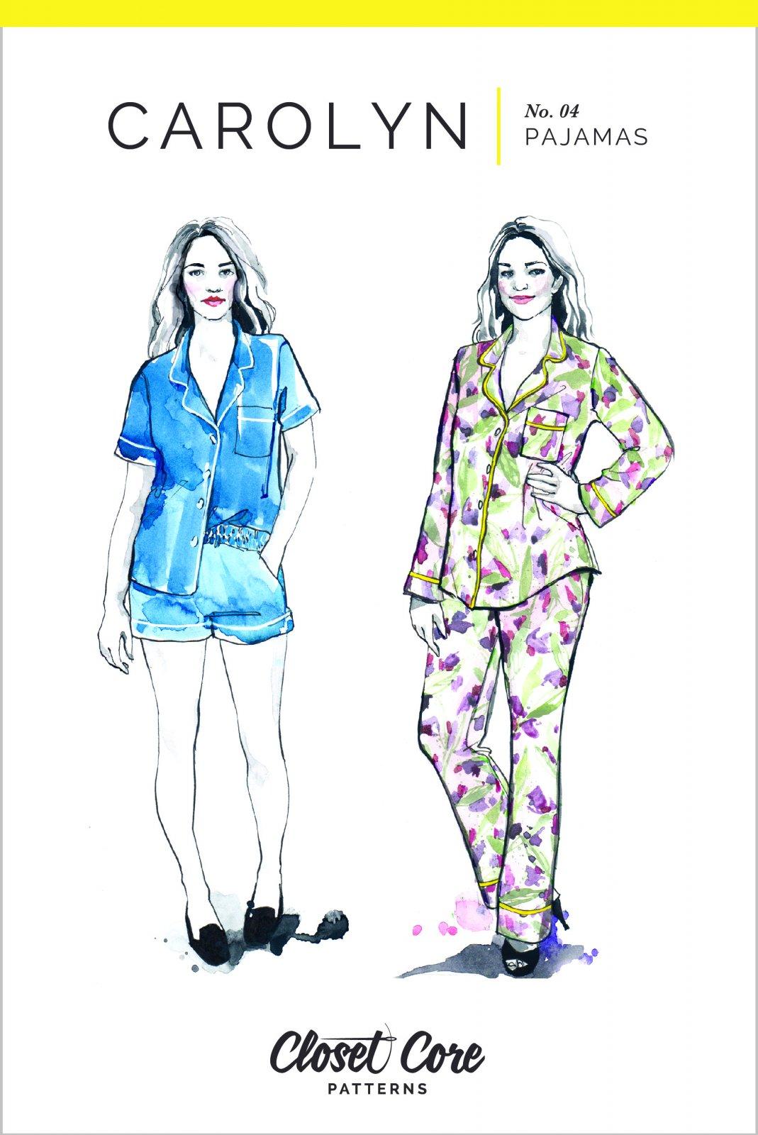 Carolyn Pajamas - Closet Core Patterns