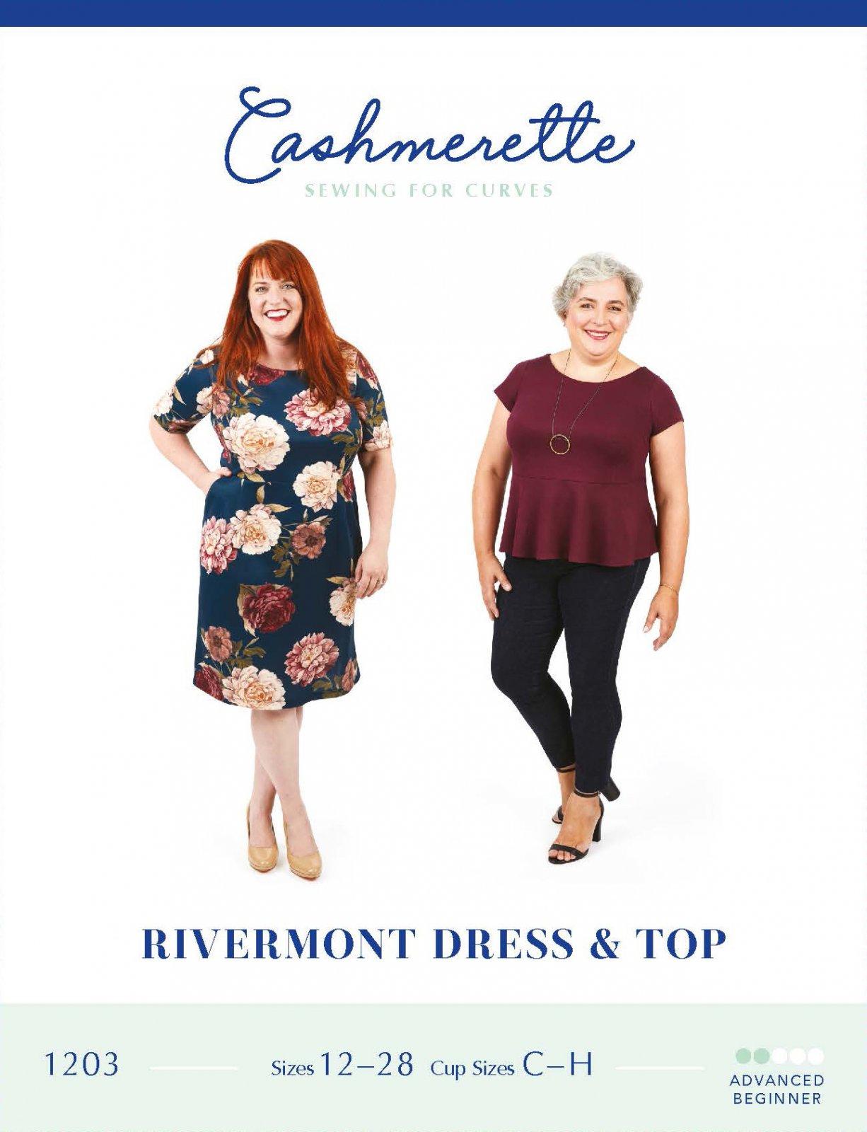 Rivermont Dress & Top - Cashmerette