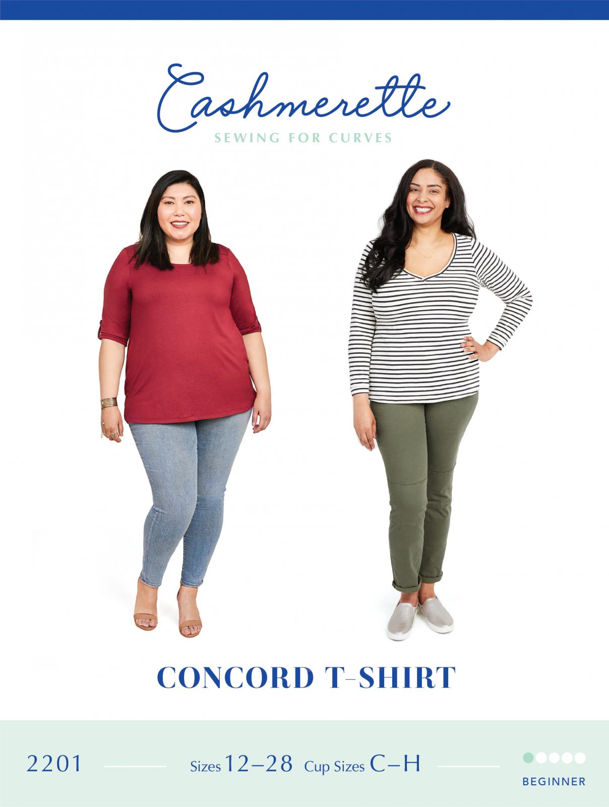 Concord Top - Cashmerette