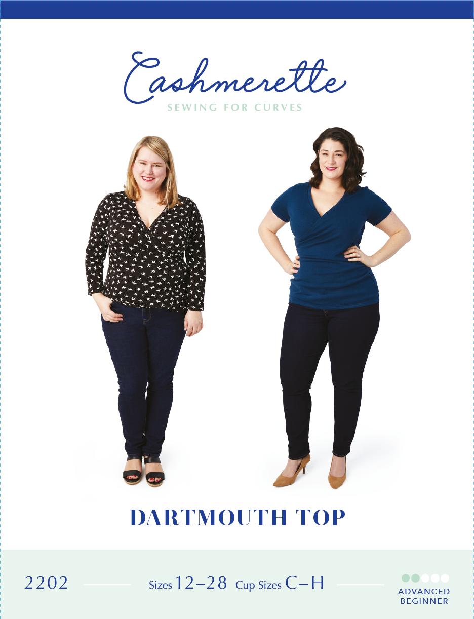 Dartmouth Top - Cashmerette Patterns