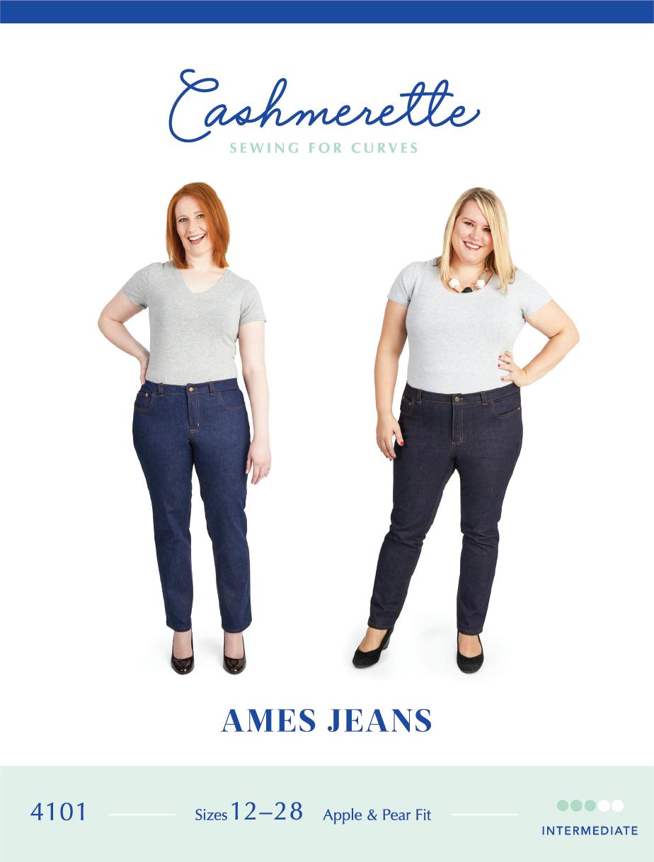 Ames Jeans - Cashmerette Patterns