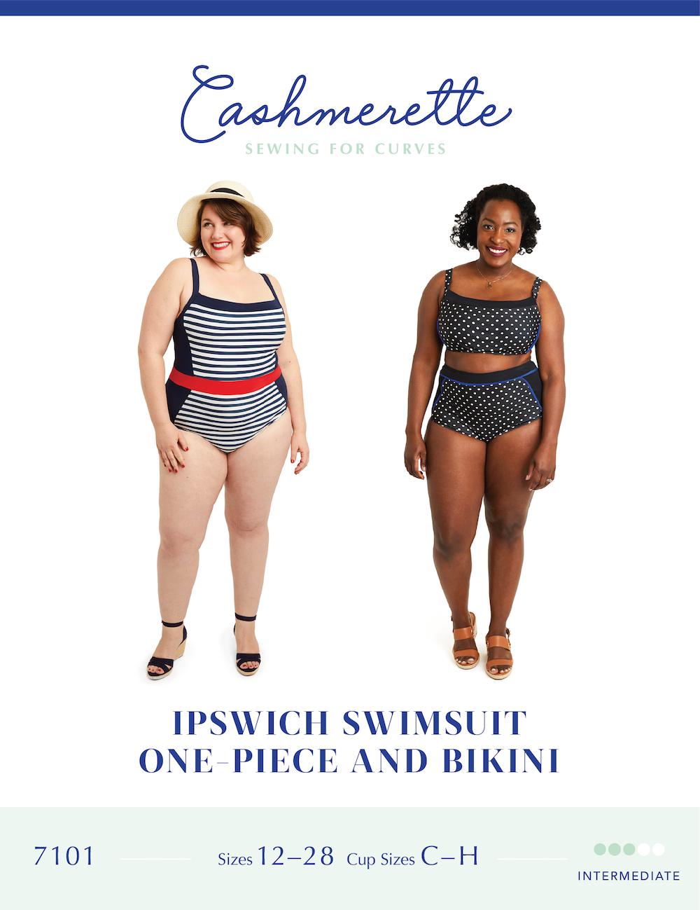 Ipswich Swimsuit - Cashmerette Patterns