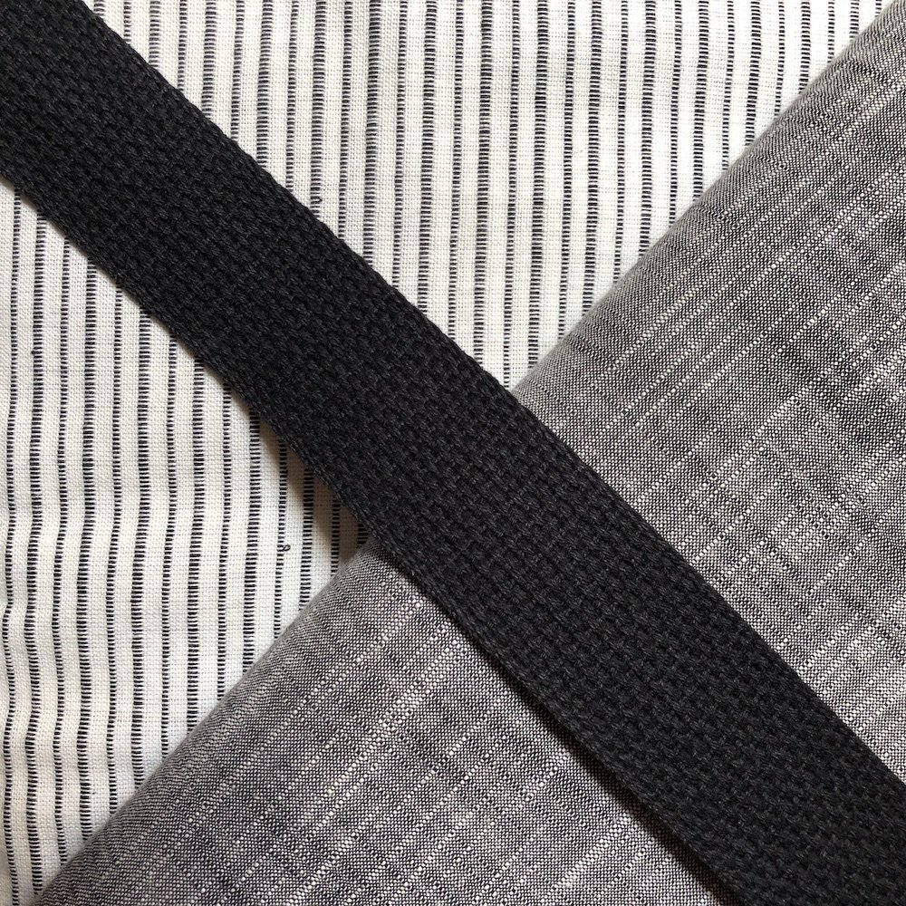 Stitch Tote Bag Kit - Charcoal Raven