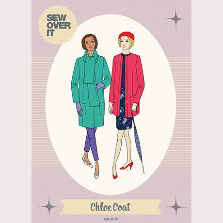 Chloe Coat - Sew Over It London