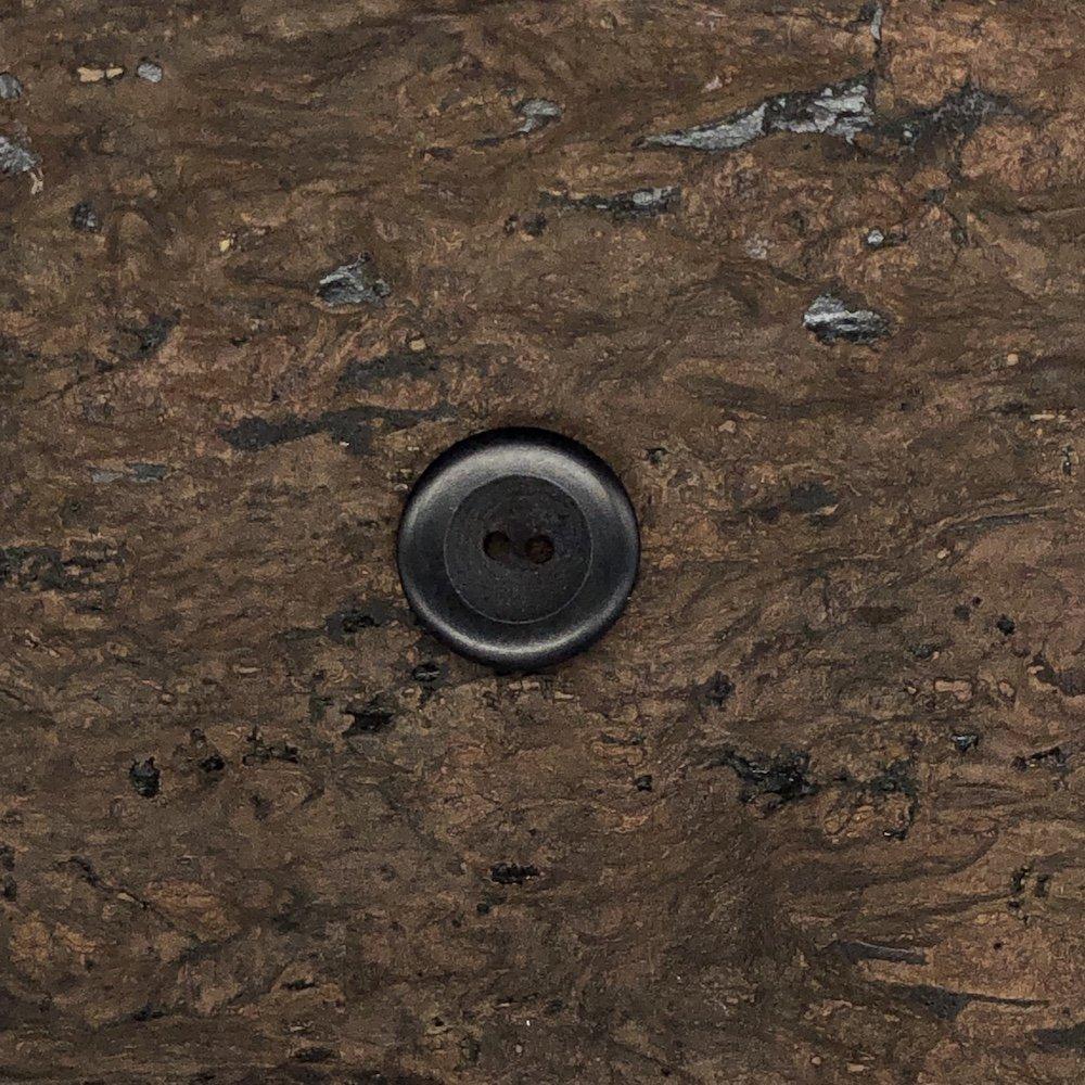 Corozo Velvet Button - 3/4