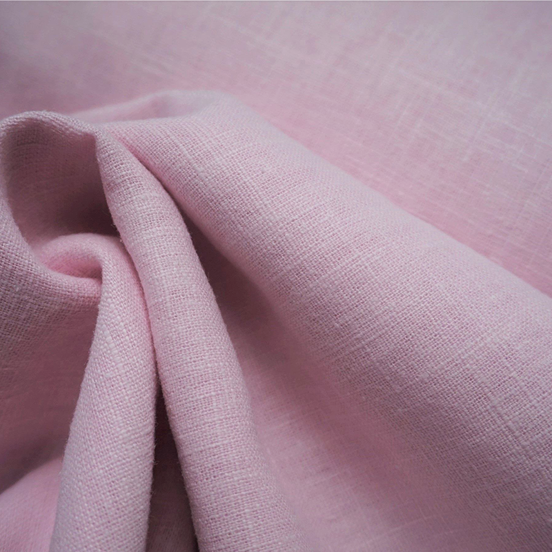 Washed Linen Chambray - Candy Pink - Lady McElroy