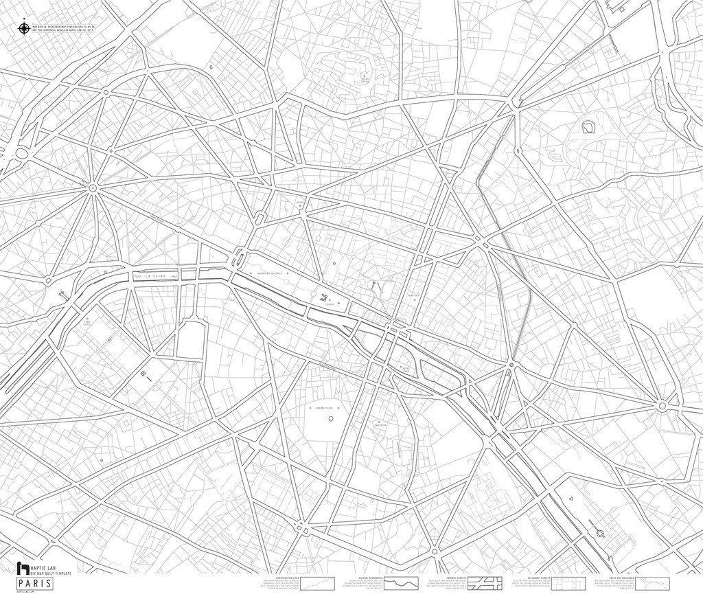 Paris - Haptic Lab DIY Quilt