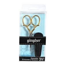Gingher 3.5 Embroidery Scissors - Epaulette