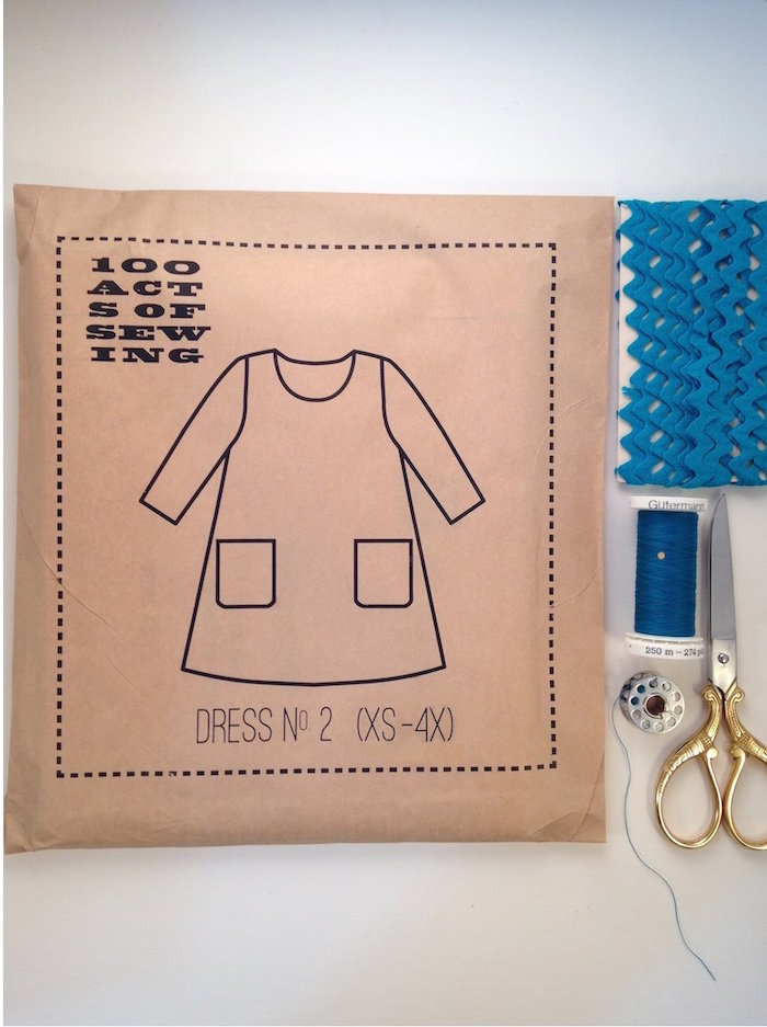 Dress No. 2 - 100 Acts of Sewing: Size XS - XL