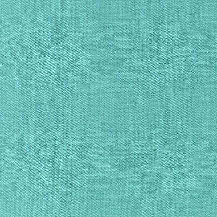 Medium Aqua - Essex Solid - Robert Kaufman
