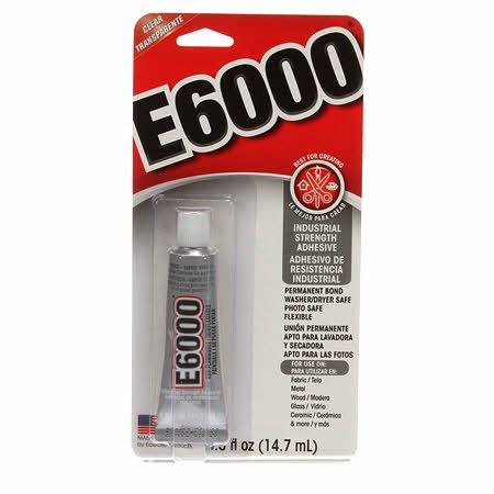 E6000 Adhesive 0.5 oz.
