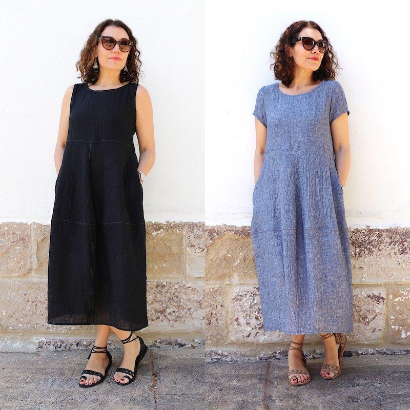Eva Dress - Tessuti Patterns