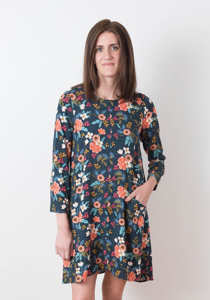 Farrow Dress - Grainline