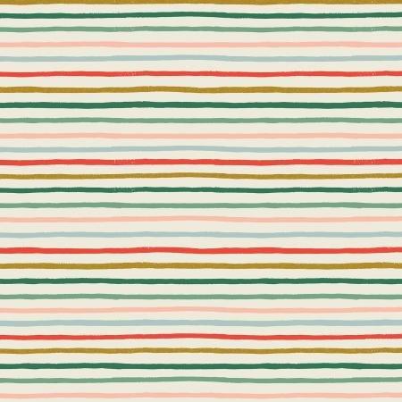 Holiday Classics Cotton - Festive Stripe - Rifle Paper Co.