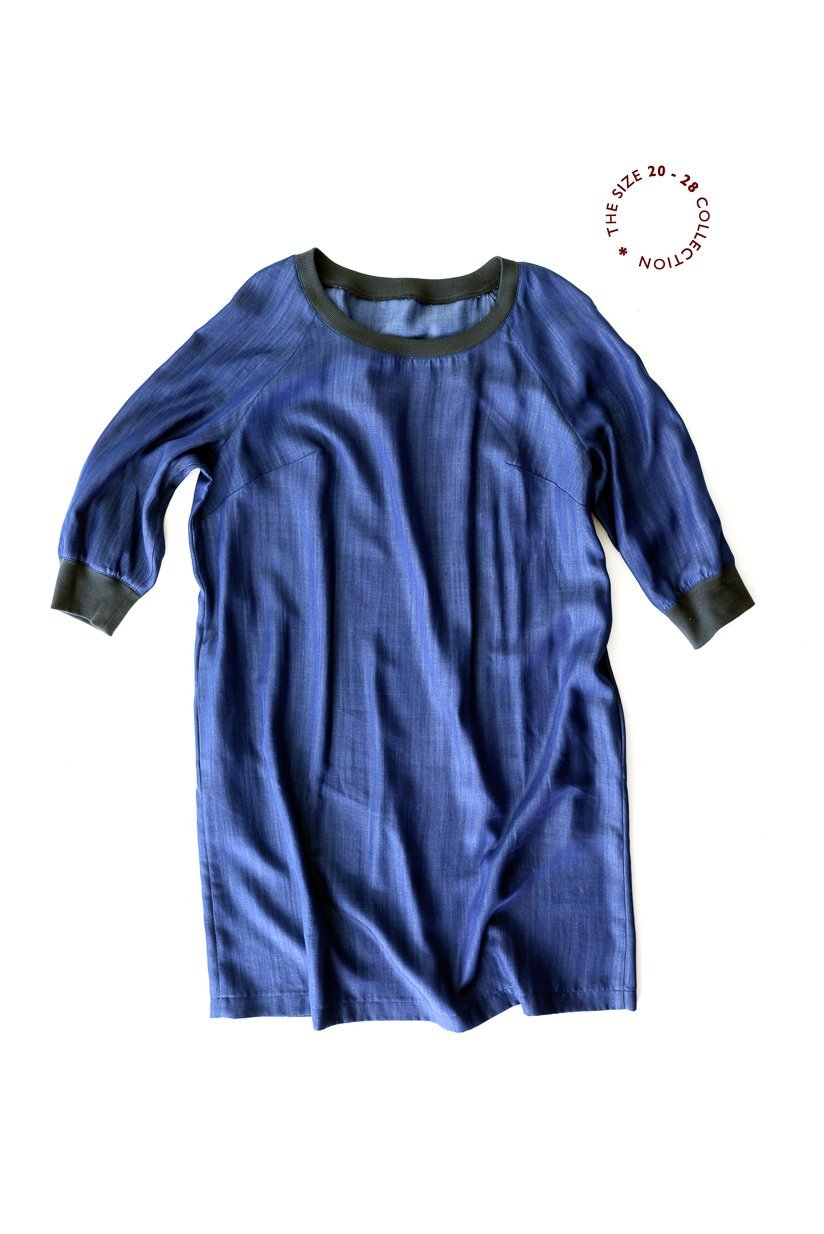 Fielder Dress & Top (Sizes UK 20 - 28) - Merchant & Mills Patterns