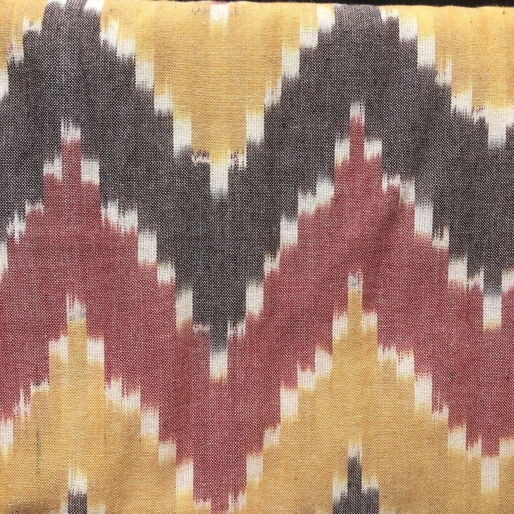 Flame Pattern - Handwoven Ikat
