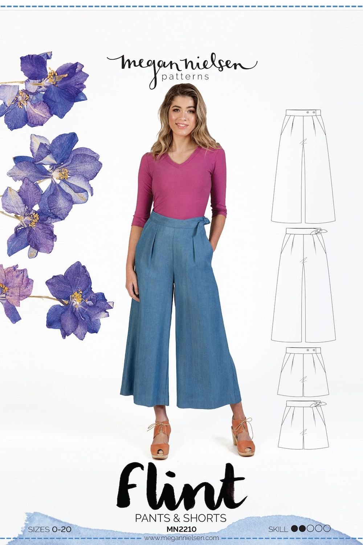 Flint Pants & Shorts - Megan Nielsen