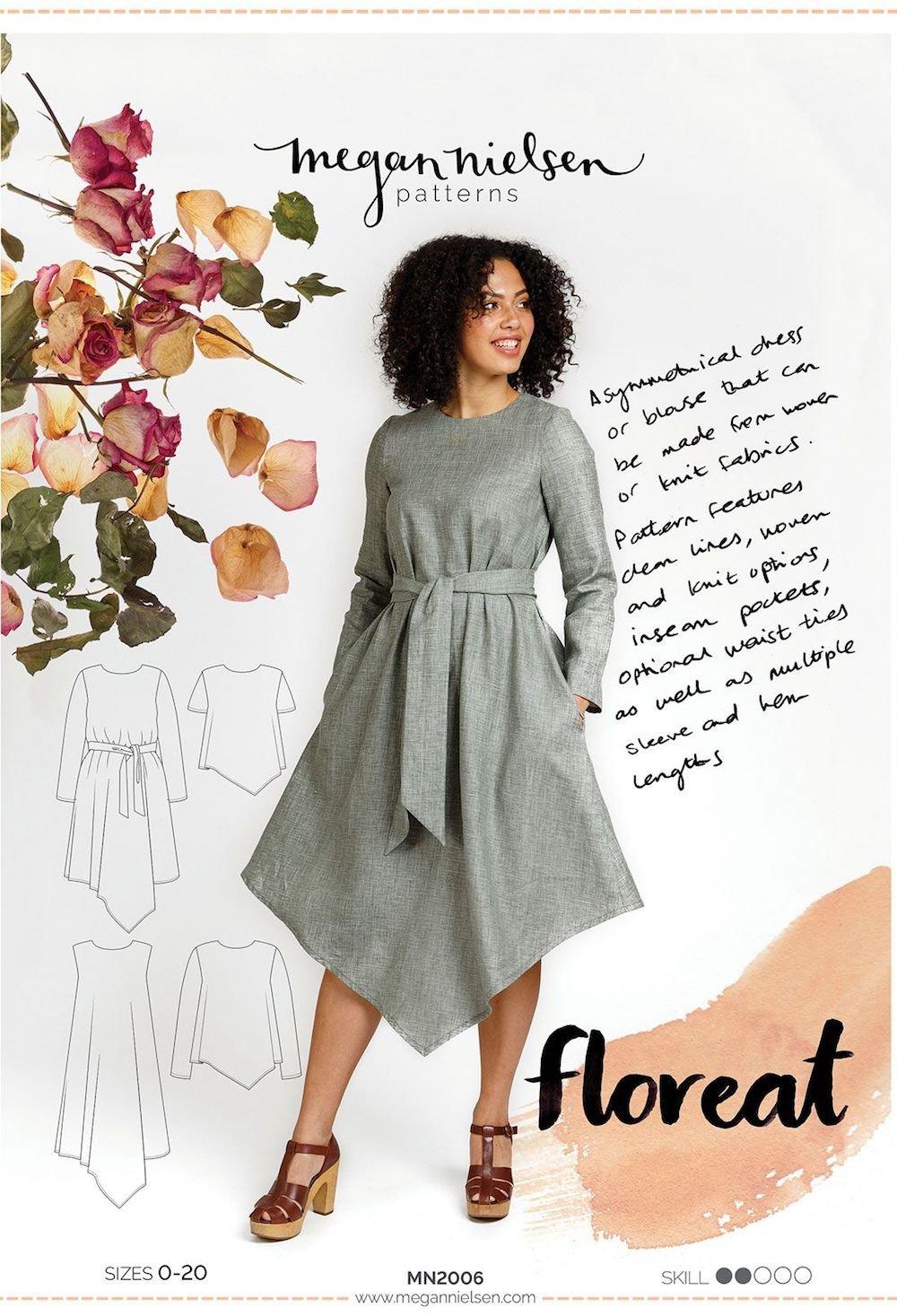 Floreat Dress & Blouse - Megan Nielsen