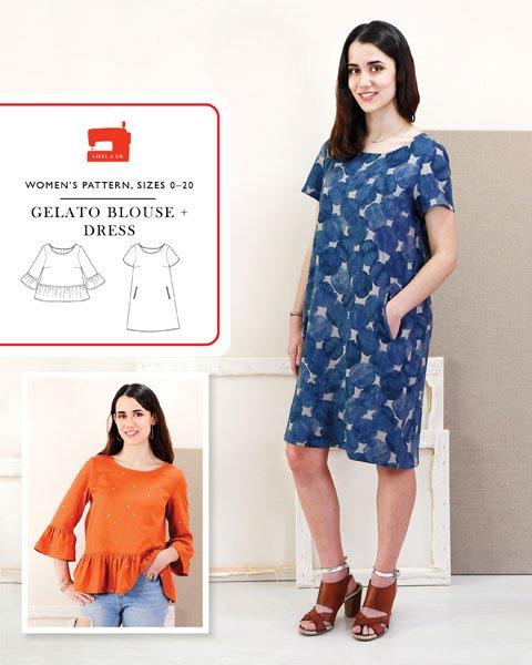 Gelato Dress and Blouse  - Liesl & Co.