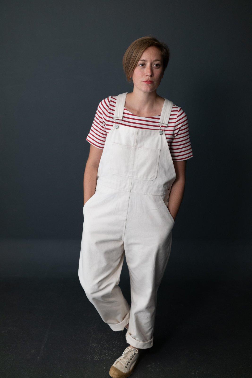 Harlene Dungarees (Sizes UK 6 - 18) - Merchant & Mills Patterns