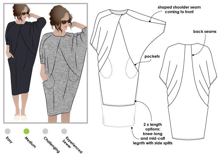 Hedy Dress - Style Arc