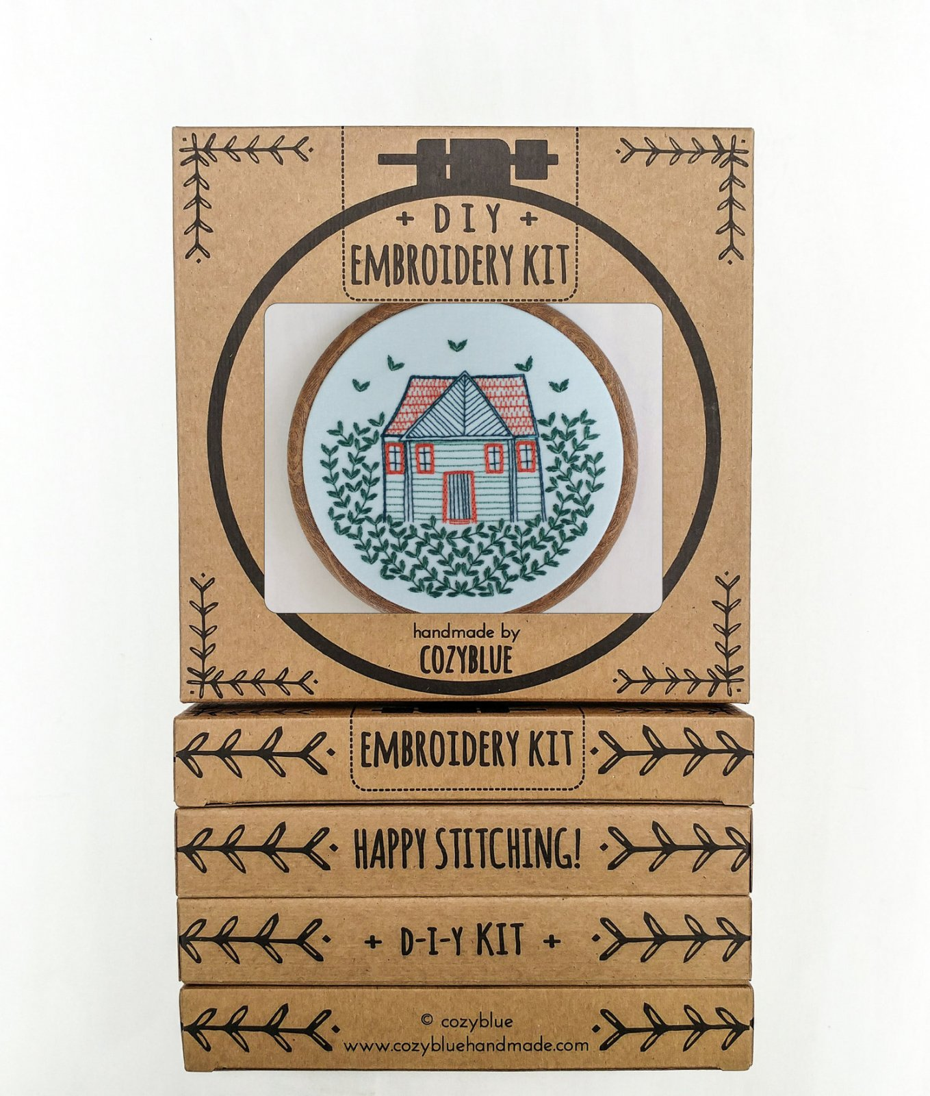Home Grown - Cozy Blue - Embroidery Kit