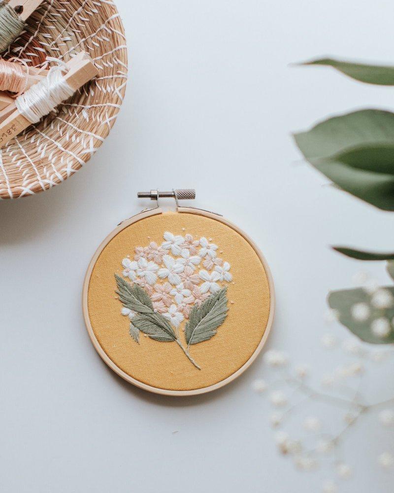 Hydrangea - Harvest Goods Co. Embroidery Kits