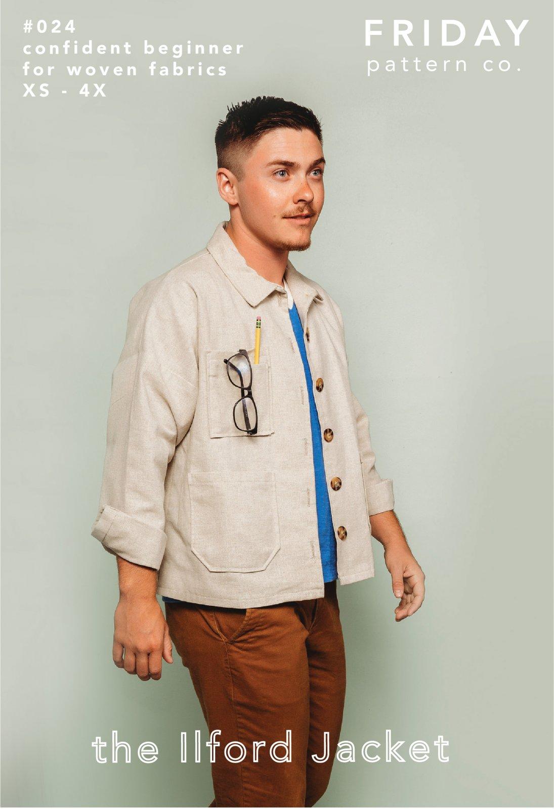 Ilford Jacket - Friday Pattern Co