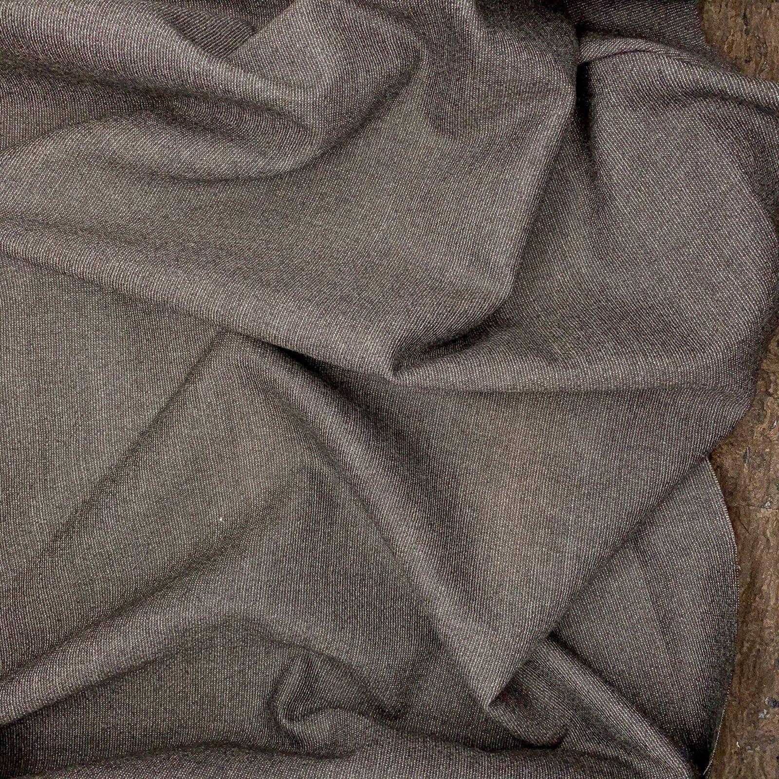 Italian Wool - Mole Brown