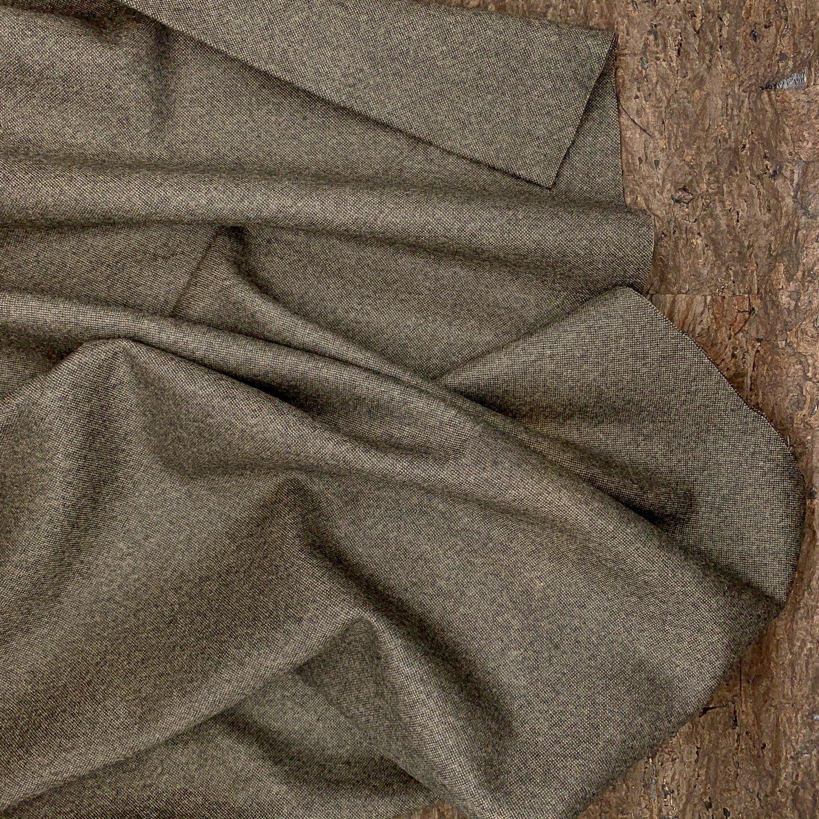 Brown Marl - Italian Wool