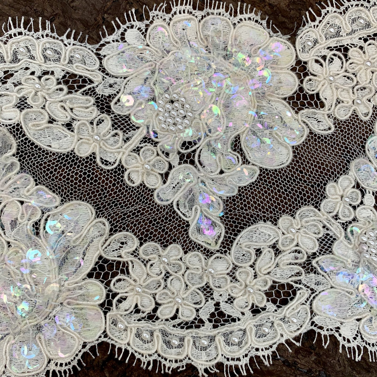 Embellished - French Lace Trim - 5 wide