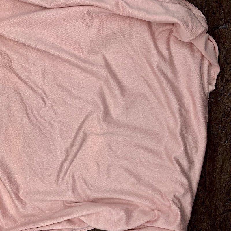 Blush Pink - Lightweight Rayon Jersey Knit