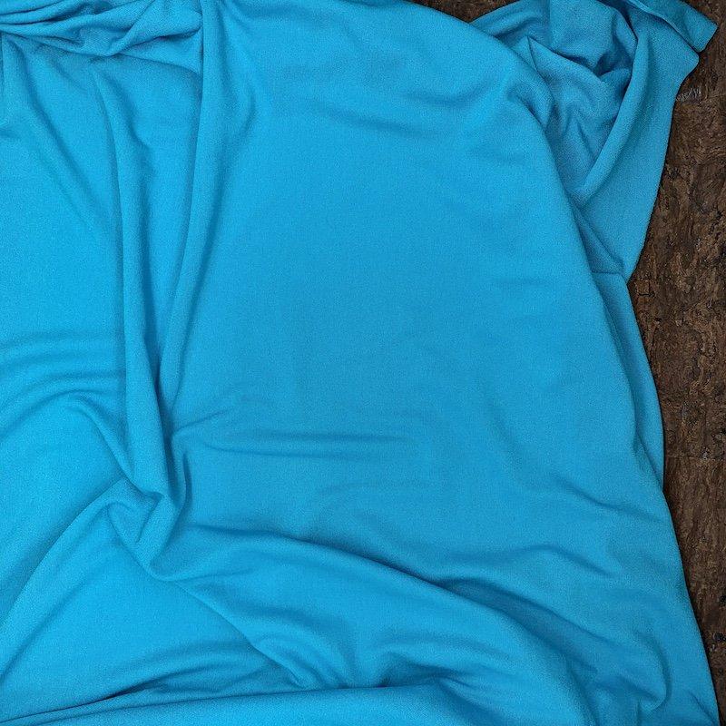 Aquamarine - Lightweight Rayon Jersey Knit