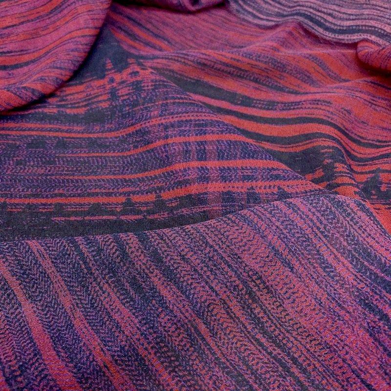 Laguna Playa - Printed Silk Chiffon