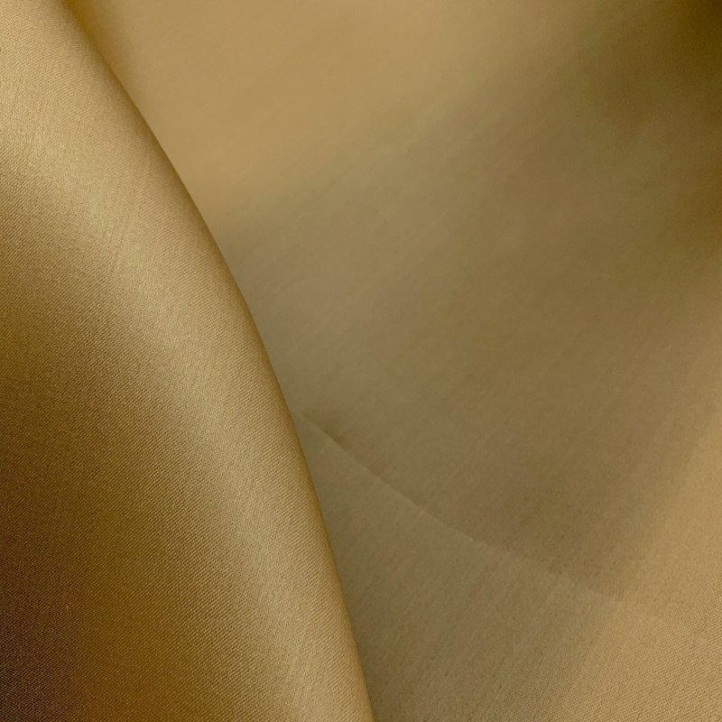 Golden Sand - Silk Satin Face Organza