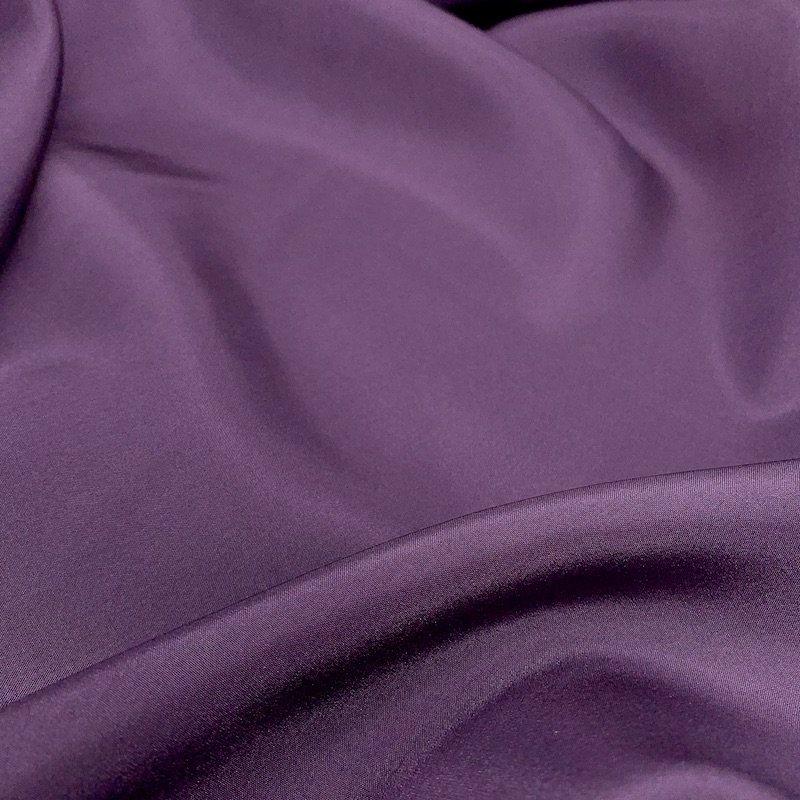Eggplant - Lightweight Silk Solid